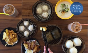 Yummy Dumplings: 10-Dish Dumpling Banquet with Tea for Two ($35), Four ($65), or Ten People ($155) at Yummy Dumplings (Up to $281 Value)
