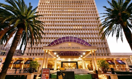 Perth: 1 to 3Night CBD Stay for Two People with Sparkling Wine and Late CheckOut at the 5* Duxton Hotel Perth
