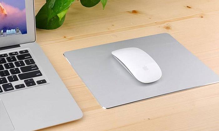 Tappetino metallico per il mouse