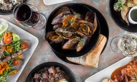 3-Course Italian Lunch or Dinner for Two People ($39) with Carafe of Wine ($55) at Barolo Restaurant (Up to $121 Value)