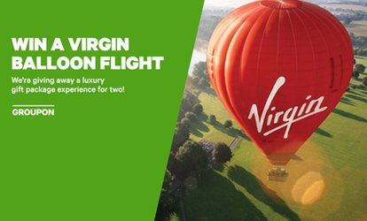 WIN a Luxury Gift Package Virgin Balloon Experience for Two