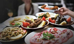 Athena Palace Greek Taverna: All-You-Can-Eat Greek Meze with Glass of Wine for Up to Six at Athena Palace (Up to 39% Off)