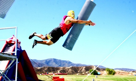 $49 for Entry for One to the 5k ThrillSeeker Stunt Run on Saturday, May 23 (Up to $80 Value)