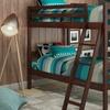 Manhattan Comfort Hayden Solid-Pine Twin-Size Bunk Bed