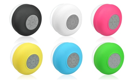 One or Two Apachie Bluetooth Shower Speakers