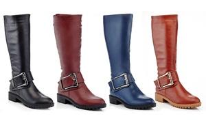 Women's Knee-High Riding Boots