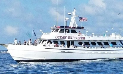 Four-Hour Afternoon <strong>Fishing</strong> Charter for One, Two, or Four at Ocean Explorer (Up to 52% Off)