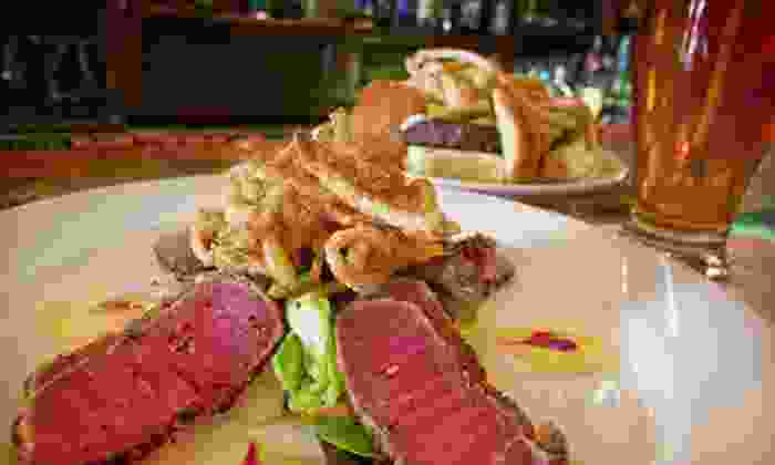 Wood-N-Tap - Multiple Locations: $10 for $20 Worth of American Food at Wood-N-Tap
