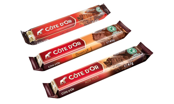 32 Cote Dor Chocolate Bars Groupon Goods