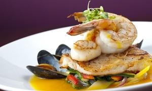 Restaurant Gastmahl des Meeres: Seafood-Schlemmerplatte mit Beilagen, Vorspeise und Dessert im Restaurant Gastmahl des Meeres (bis zu 42% sparen*)