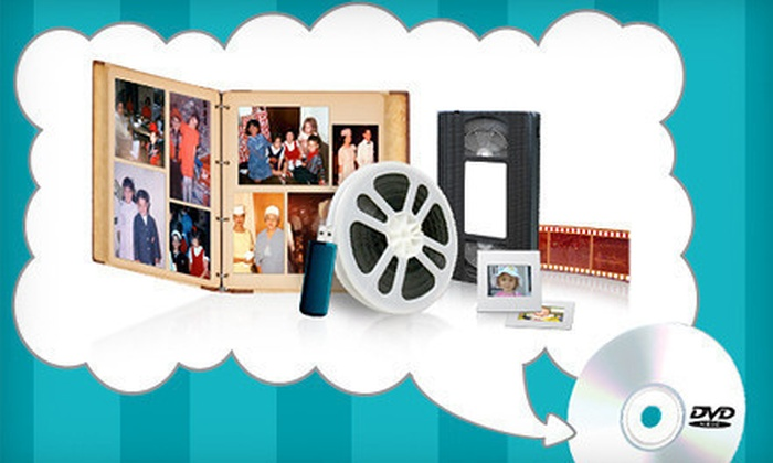 YesVideo: $19 for $60 Worth of Digital Conversion Services of VHS, Photos, Film Reels, and More from YesVideo