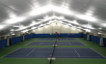 One-Month Single, Couples, or Family Membership and Fee at South Regency Tennis and Fitness (Up to 81% Off)