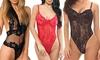 Women's Lace Mesh Bodysuit