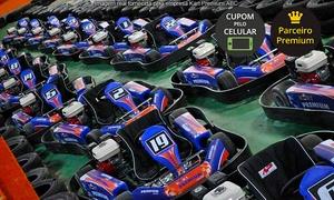 Kart Premium ABC: Kart Premium ABC – Shopping Global: bateria de 30 minutos de kart para 1 ou 5 pessoas