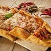 Pizza turque et dessert