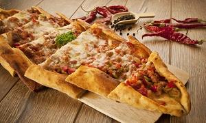 Oba Restaurant: Turkse pizza naar keuze met dessert voor 2, 4 of 6 personen vanaf €14,99