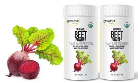 Grass Root Naturals Organic Beet Powder (30 or 60 Servings) a138e954-77be-11e7-a5a3-00259069d7cc