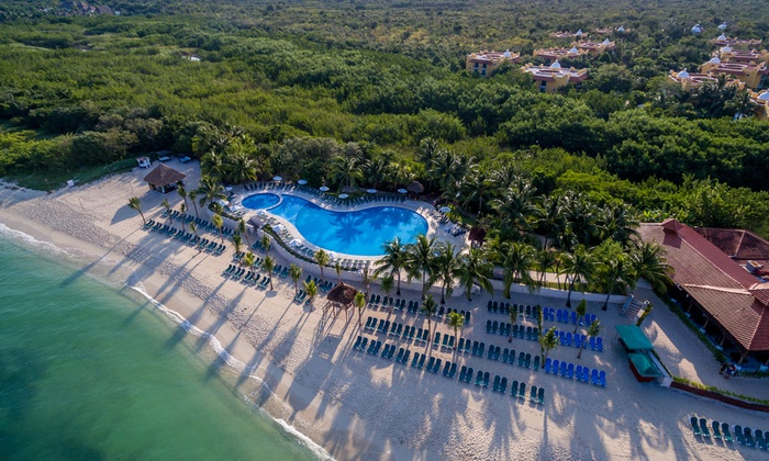 4-Night All-Inclusive Occidental Cozumel Stay with Air from Travel By Jen - Mexico: ✈ 4-Night All-Inclusive Occidental Cozumel Stay w/ Air from Travel By Jen. Price per Person Based on Double Occupancy.