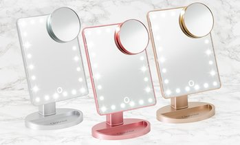 Touchscreen LED-Make-up-Spiegel