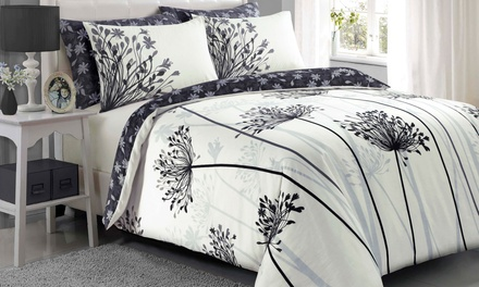 Pieridae VintageStyle Floral or Meadow Duvet Cover Set in Choice of Colour