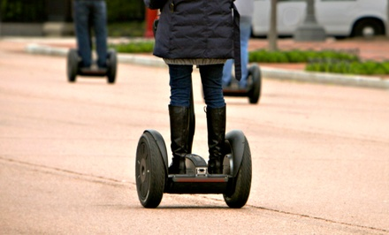 $25 for a Self-Guided Segway Tour with Seg Adventures in Plymouth ($50 Value)