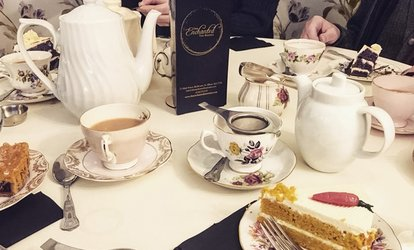 image for Cream Tea with Optional Glass of Bubbly for Two at The Enchanted Tea Rooms (Up to 48% Off)