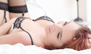 Brigitte Boudoir: 90-Minute Photo Shoot with 5 or 10 Digital Retouched Images at Brigitte Boudoir (Up to 88% Off)