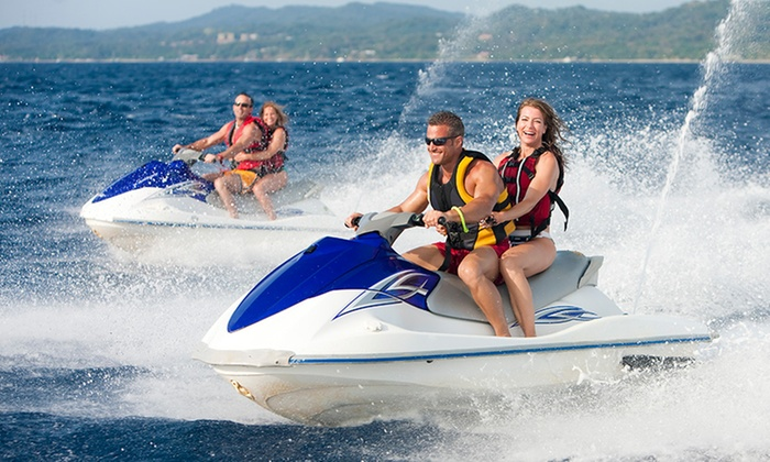 30- or 60-Minute Jet Skiing for One, Two, or Three at Surf You To The Moon (Up to 77% Off)