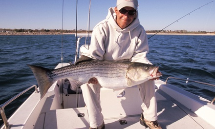 $27 for a Half-Day Fishing Trip from Pierpoint Landing ($45 Value)