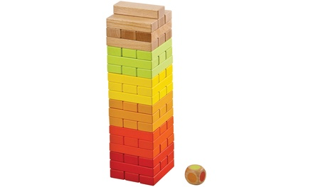 Lelin Wooden Tumbling Tower