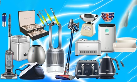 Kitchen Gadget Mystery Deal with Chance to Recieve Dyson Hot & Cold Fan, Shark Vacuum, Philips Steam Generator and More