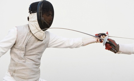 Four Fencing Classes at Sierra Blades (65% Off)