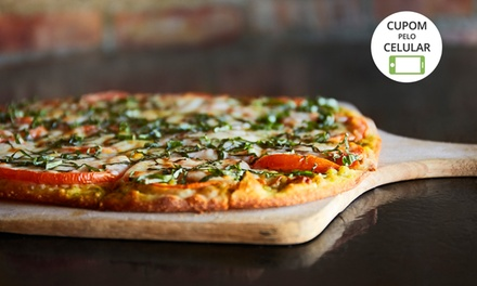 Pizzaria Marinelle- 3 unidades: pizza grande + borda catupiry sabores tradicionais, especialidades ou indicações do Chef