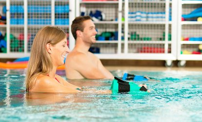 image for One Month Unlimited or Five Aqua Fitness or Aqua Zumba Classes at CHP Fitness Studio (Up to 64% Off)