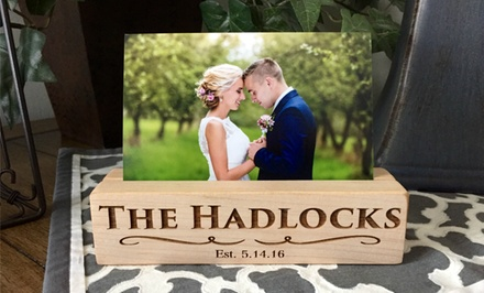 One or Two Personalized Photo Blocks from American Laser Crafts (Up to 53% Off)