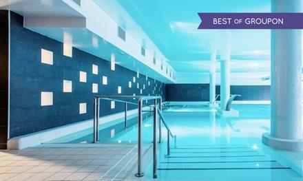 Zaragoza: 1 o 2 noches para 2 con media pensión, piscina termal y pediluvio en Hotel Balneario Alhama de Aragón 4*