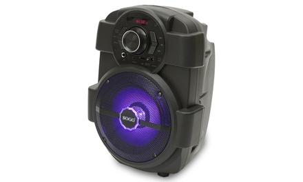 Altavoz karaoke bluetooth con batería interna, luces RGB y 10W de potencia