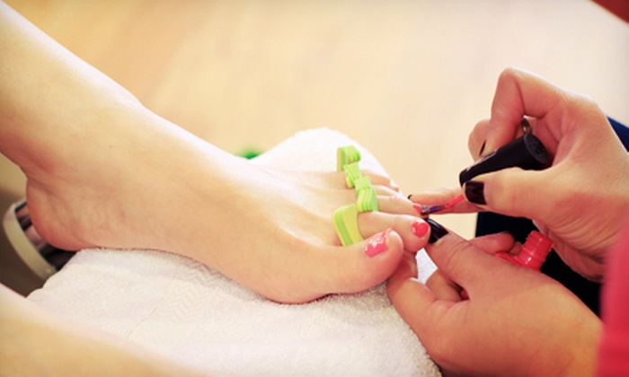 Spa Spot - Lakeview: $59 for Two No-Chip Manicures with Regular Pedicures at Spa Spot ($126 Value)