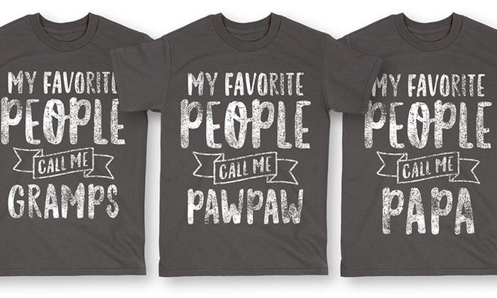 Men's Grandfather T-Shirts