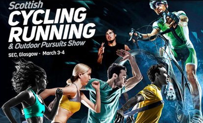image for Scottish Cycling, Running and Outdoor Pursuits Show, 3 - 4 March, SECC, Glasgow (Up to 25% Off)