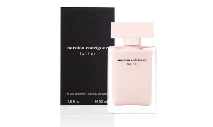 narciso rodriguez for her eau de parfum for women groupon. Black Bedroom Furniture Sets. Home Design Ideas