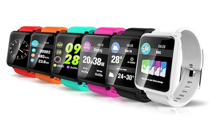 1 o 2 smartwatch M28 disponibili in vari colori e con o senza confezione natalizia
