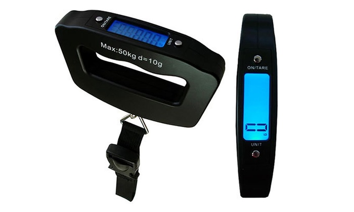 One or Two Jazooli Digital Luggage Scales