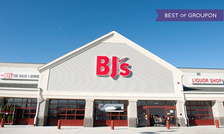 One-Year BJ's Wholesale Club Inner Circle Membership with $20 BJ's Gift Card and $55 in Coupon Savings (60% Off)