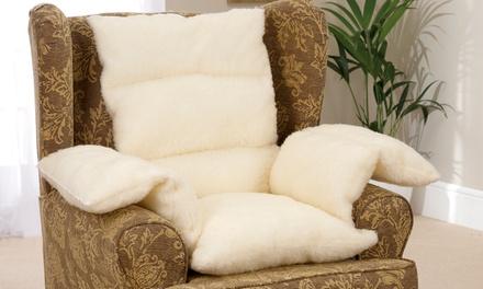 Sherpa Fleece Comfort Support Cushion for €27.99
