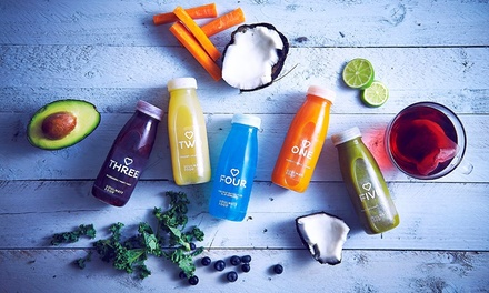 Soulmatefood Fruit or Vegetable Juice Diet Plan: Three-Day for £49.99 or Five-Day for £64.99 (Up to 74% Off)