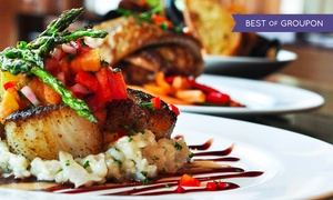 The Magnolia Thomas Restaurant: New Southern Cuisine at The Magnolia Thomas Restaurant (46% Off). Two Options Available.