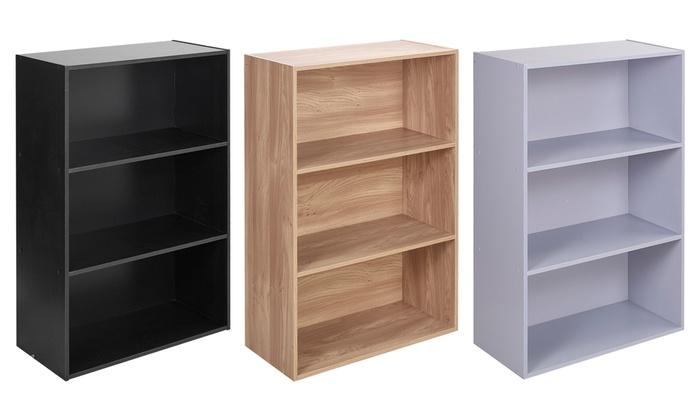 new product 72be5 b2565 3-Tier Bookshelf   Groupon Goods