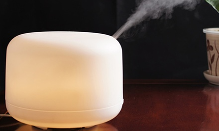 LED Air Aroma Essential Oil Diffuser