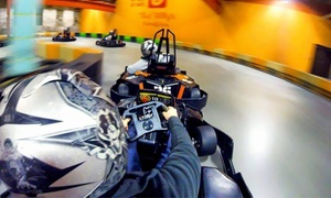 Up to 51% Off Go-Kart and Arcade Package at Slick Willy's Karts and Eats, plus 6.0% Cash Back from Ebates.